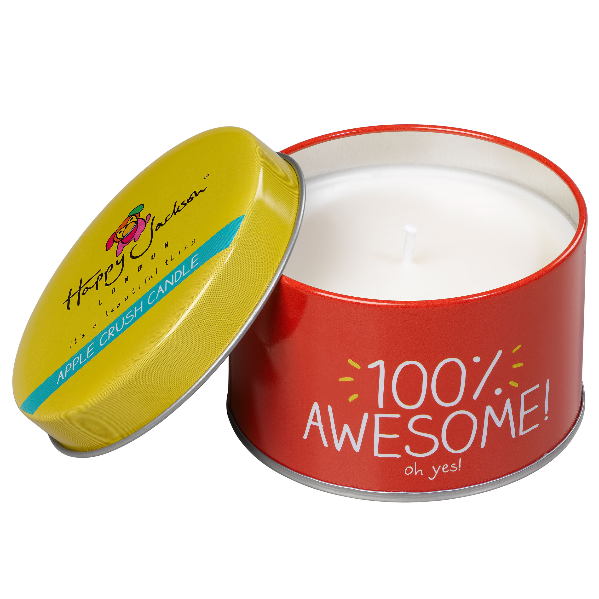 100% Awesome' Candle