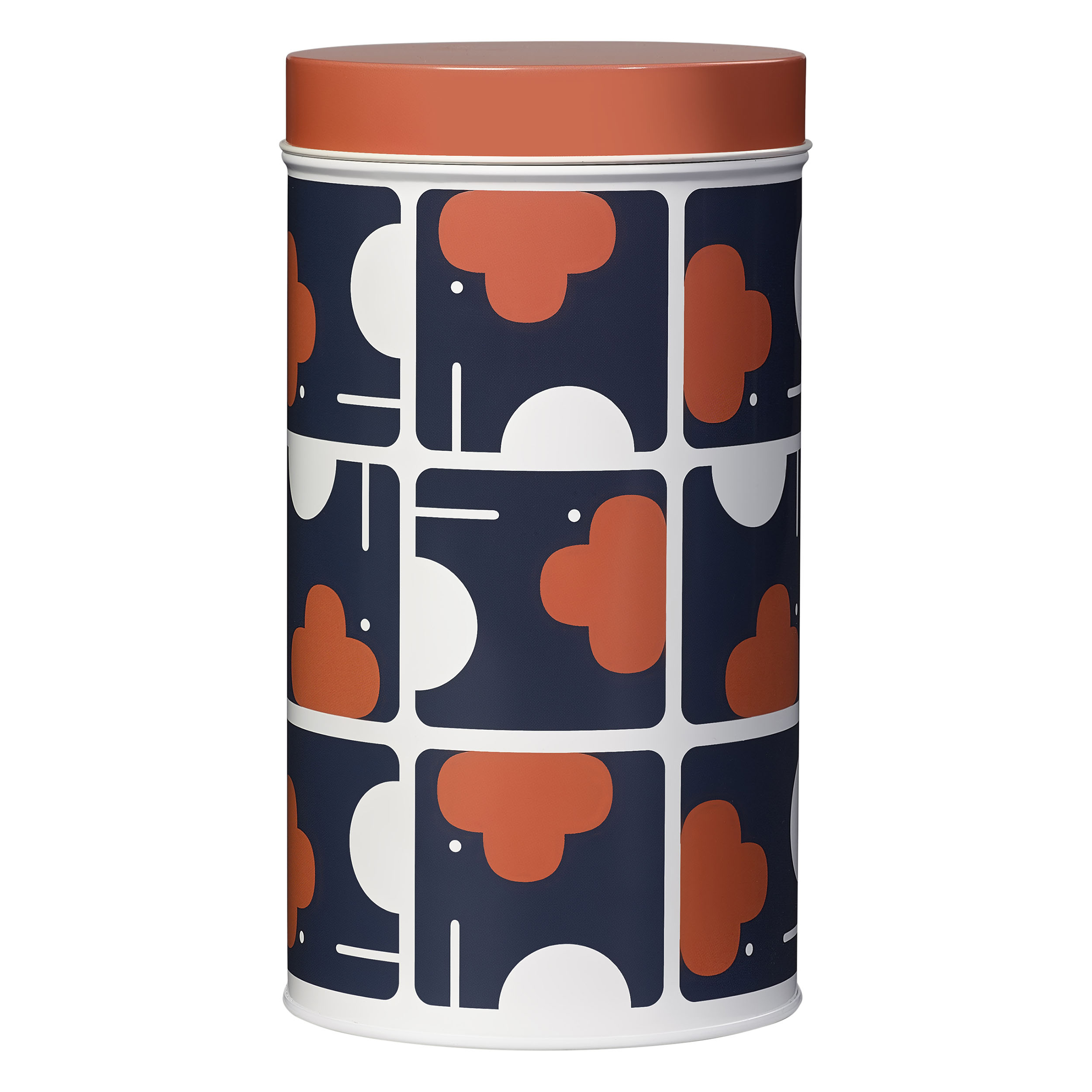 Single Tin Canister, Elephant
