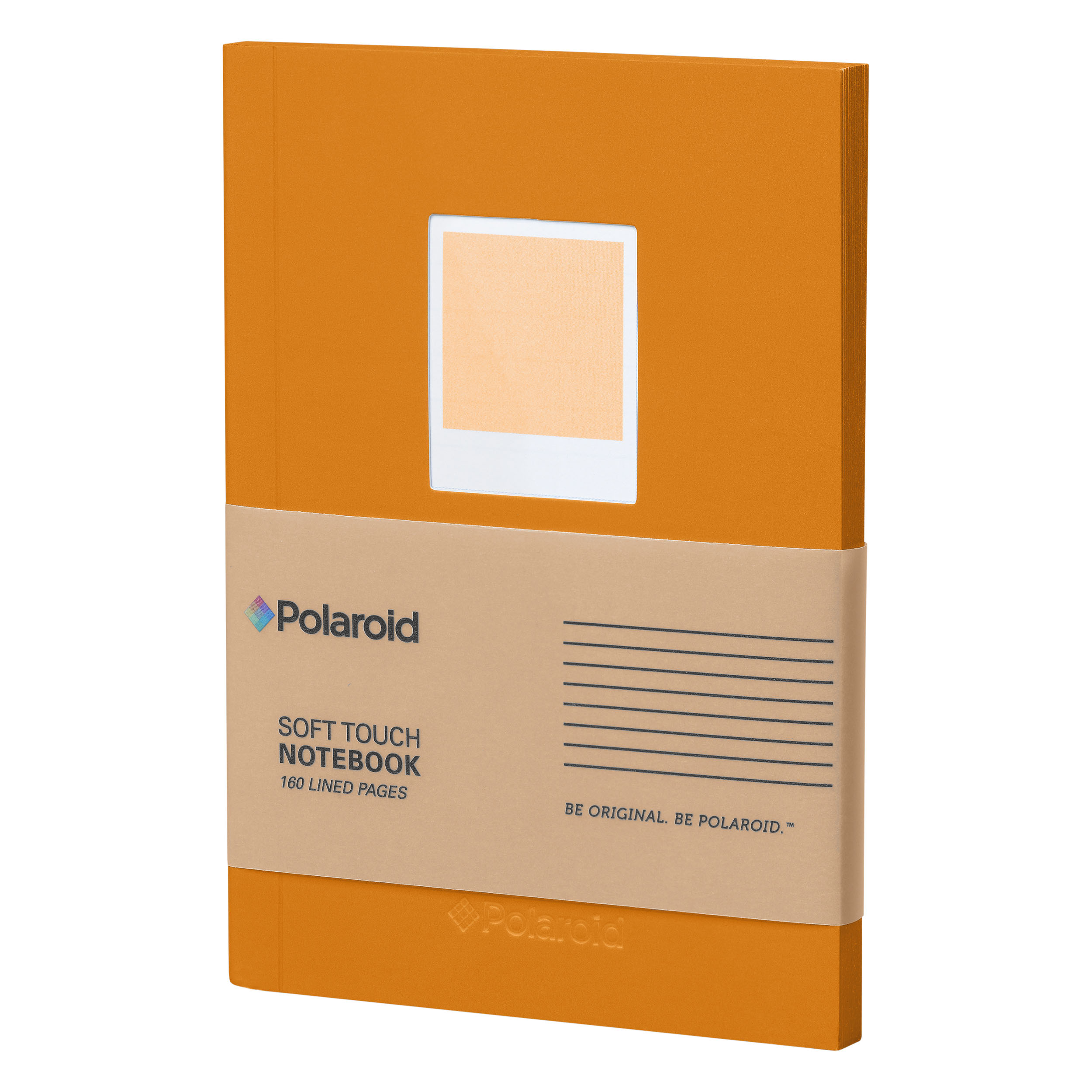 Orange Soft Touch Small Notebook