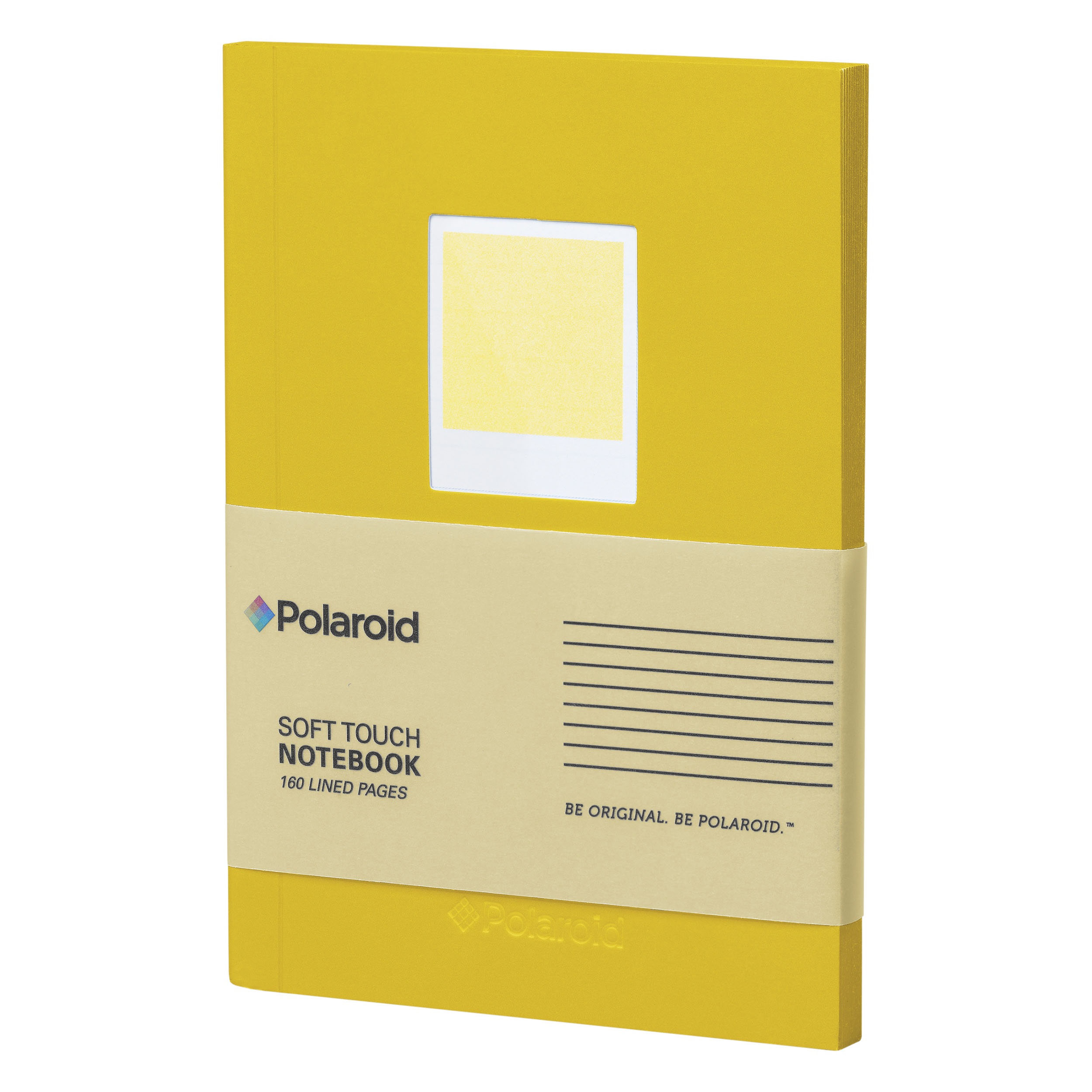 Yellow Soft Touch Small Notebook