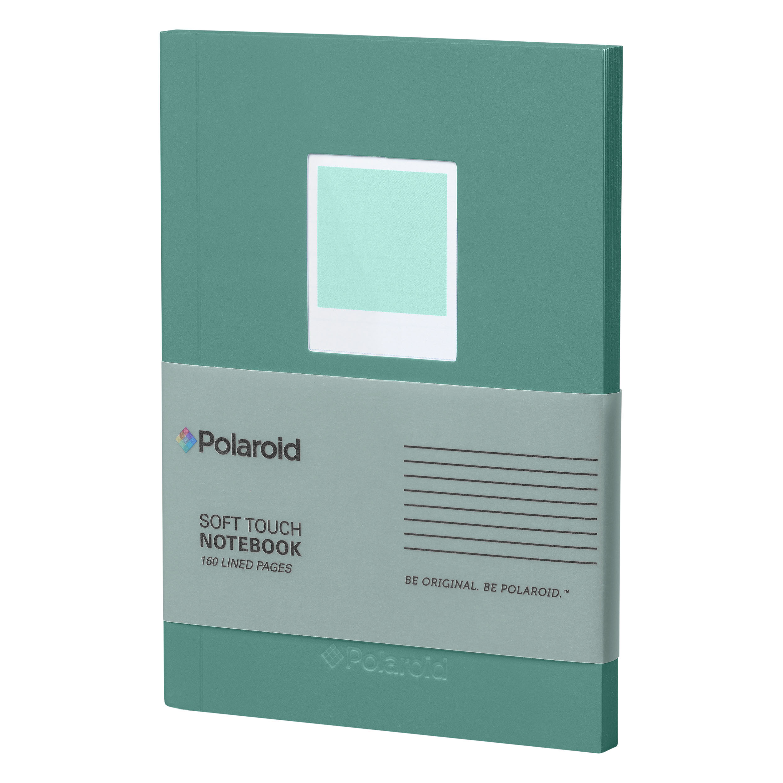 Turquoise Soft Touch Small Notebook