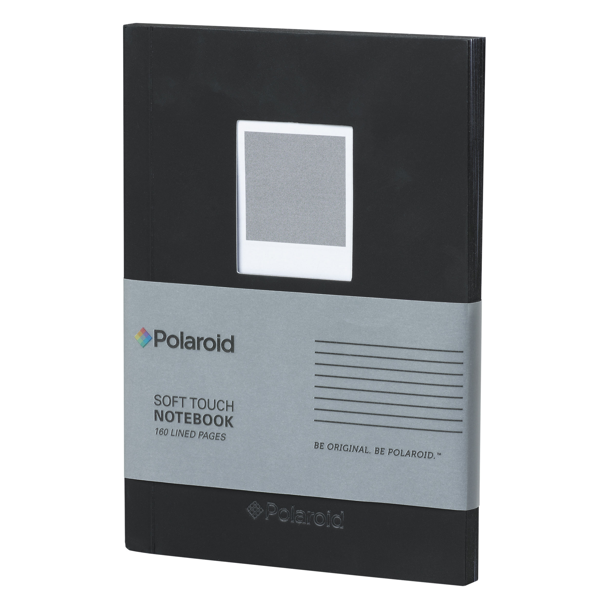 Black Soft Touch Small Notebook