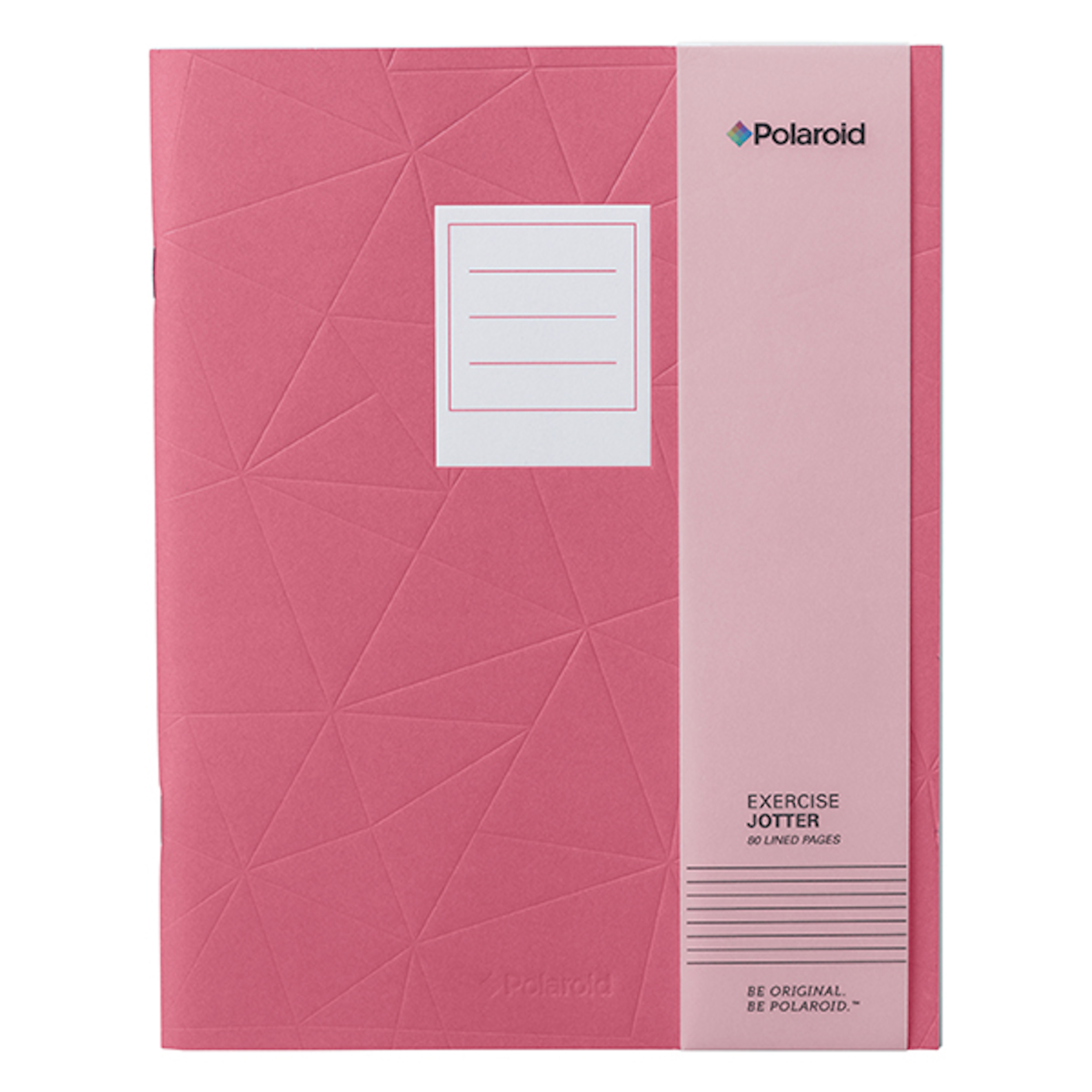 Pink Large Jotter Notebook