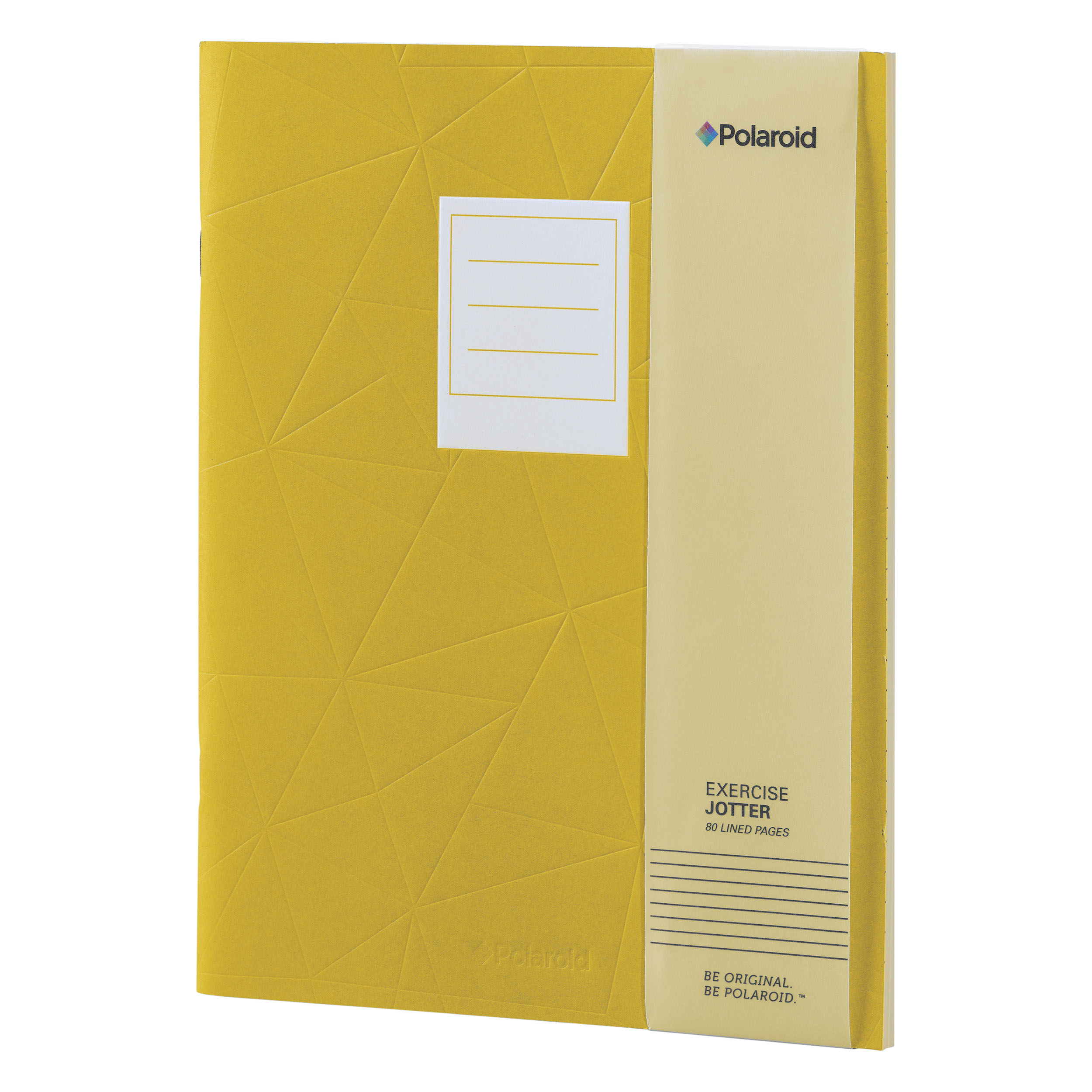 Yellow Large Jotter Notebook