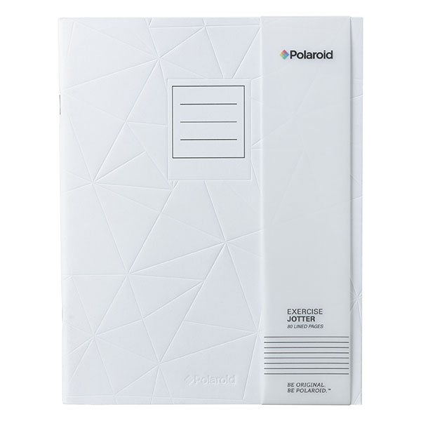 White Large Jotter Notebook