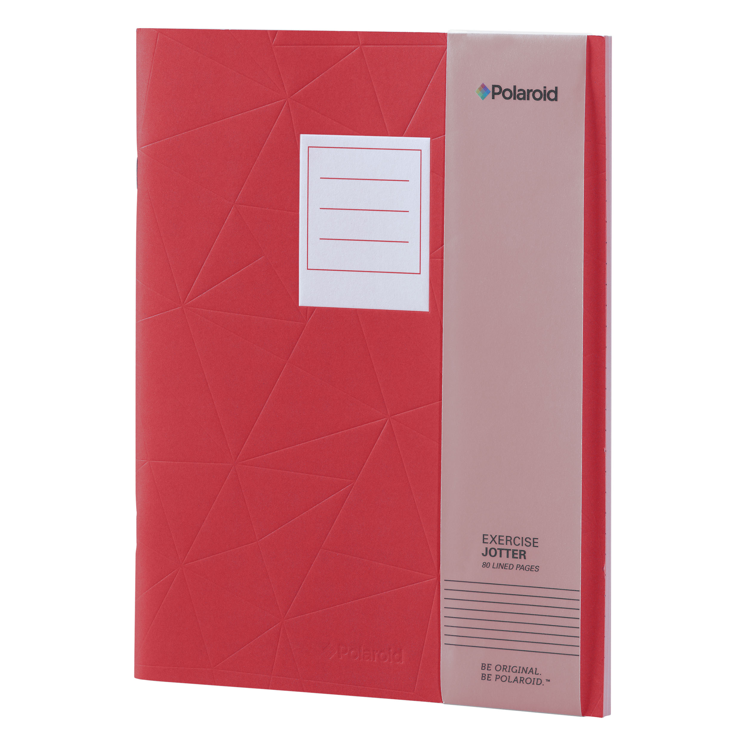 Red Large Jotter Notebook