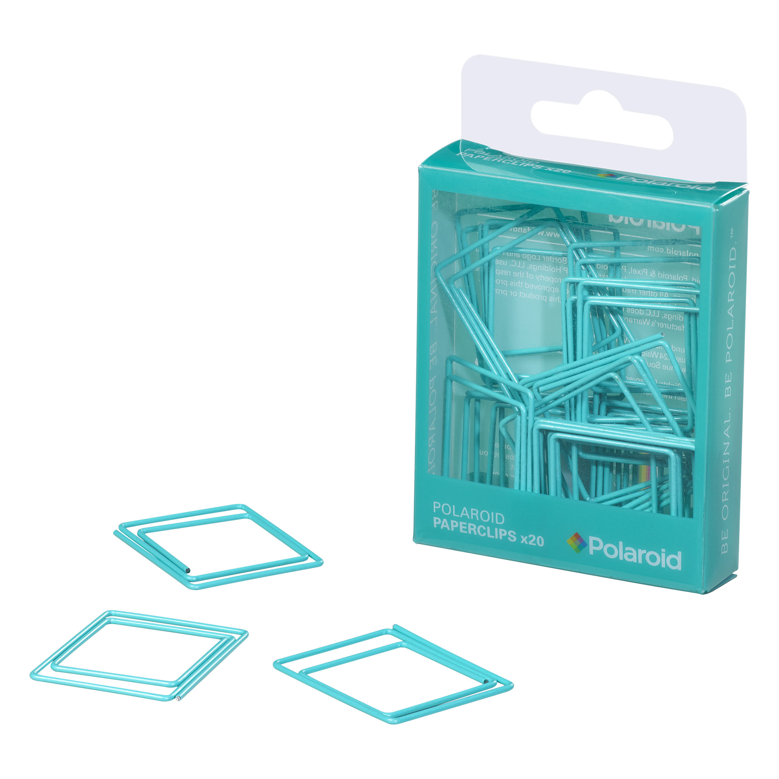 Turquoise Paperclips