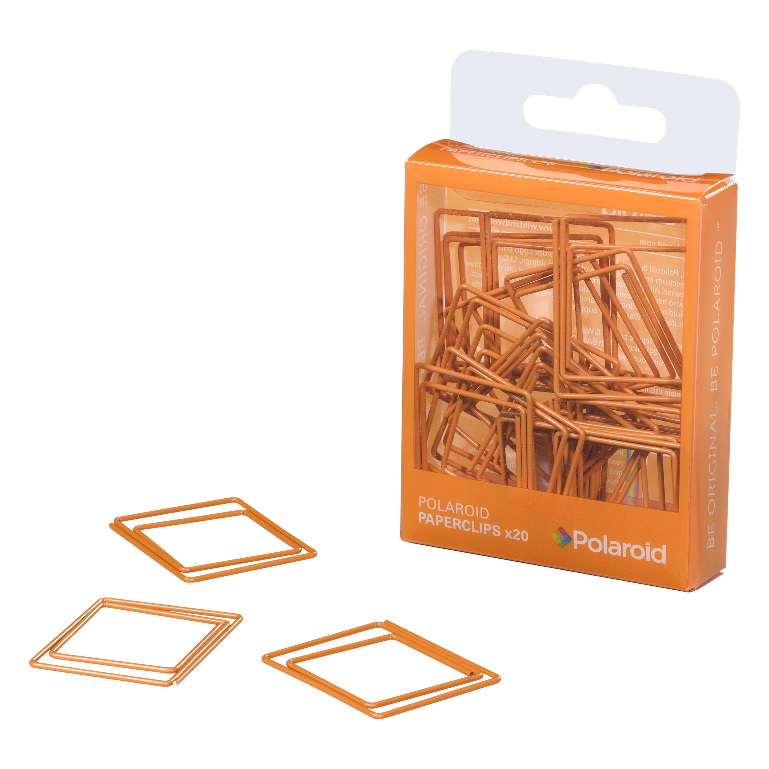 Orange Paperclips