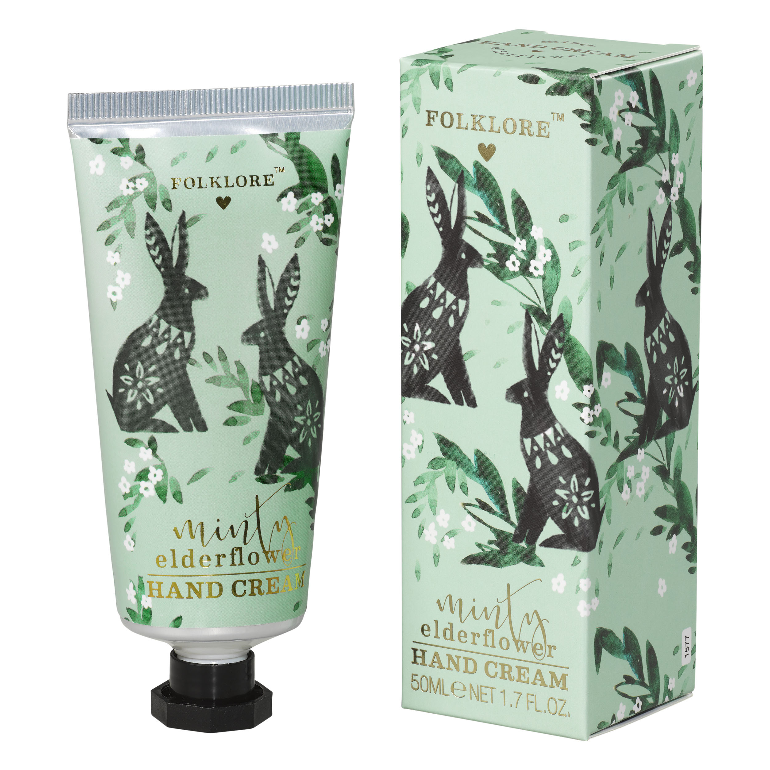 Minty Elderflower Hand Cream