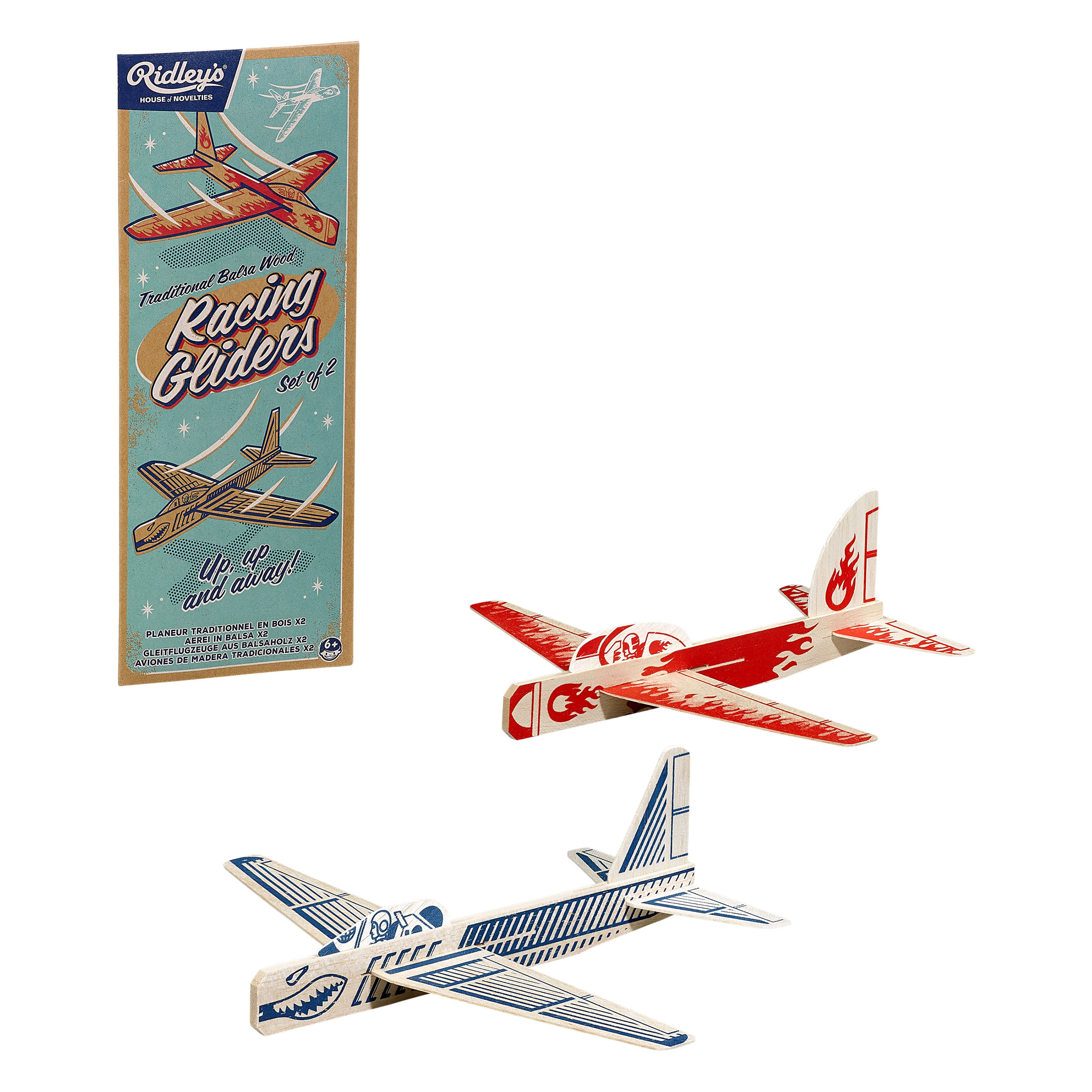 Airplane Gliders Set of 2 CDU