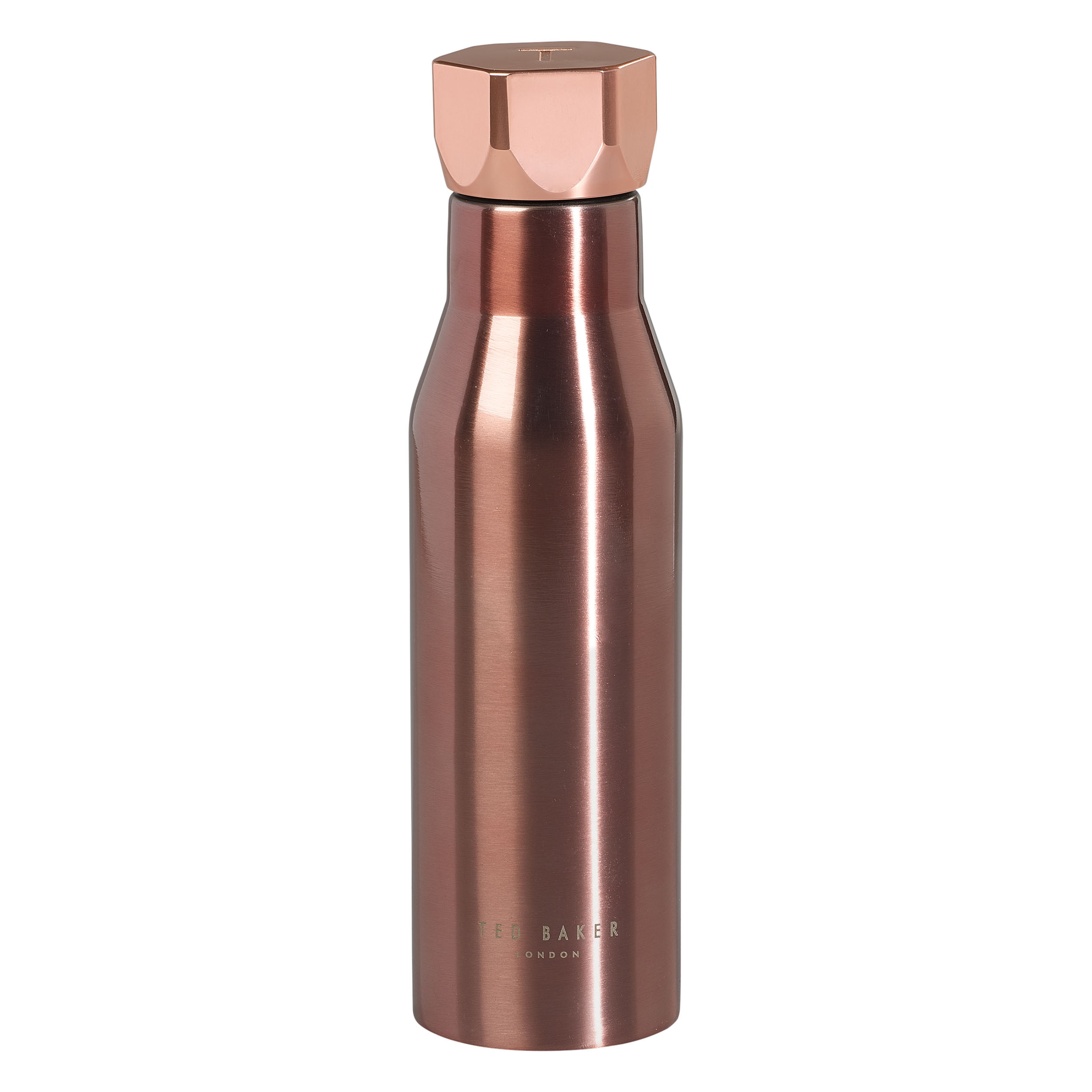 Water Bottle, Rose Gold