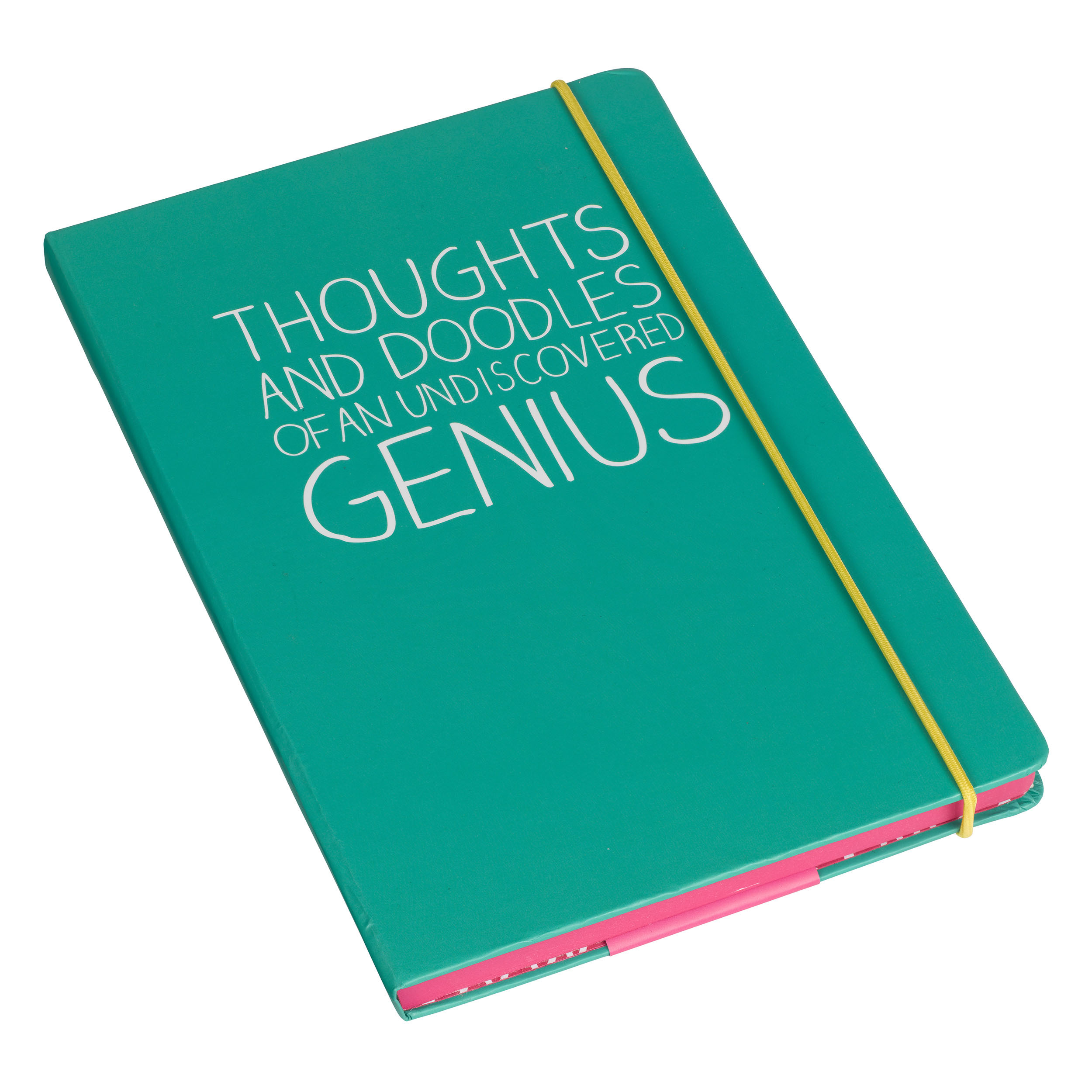 Thoughts and Doodles' A5 Notebook