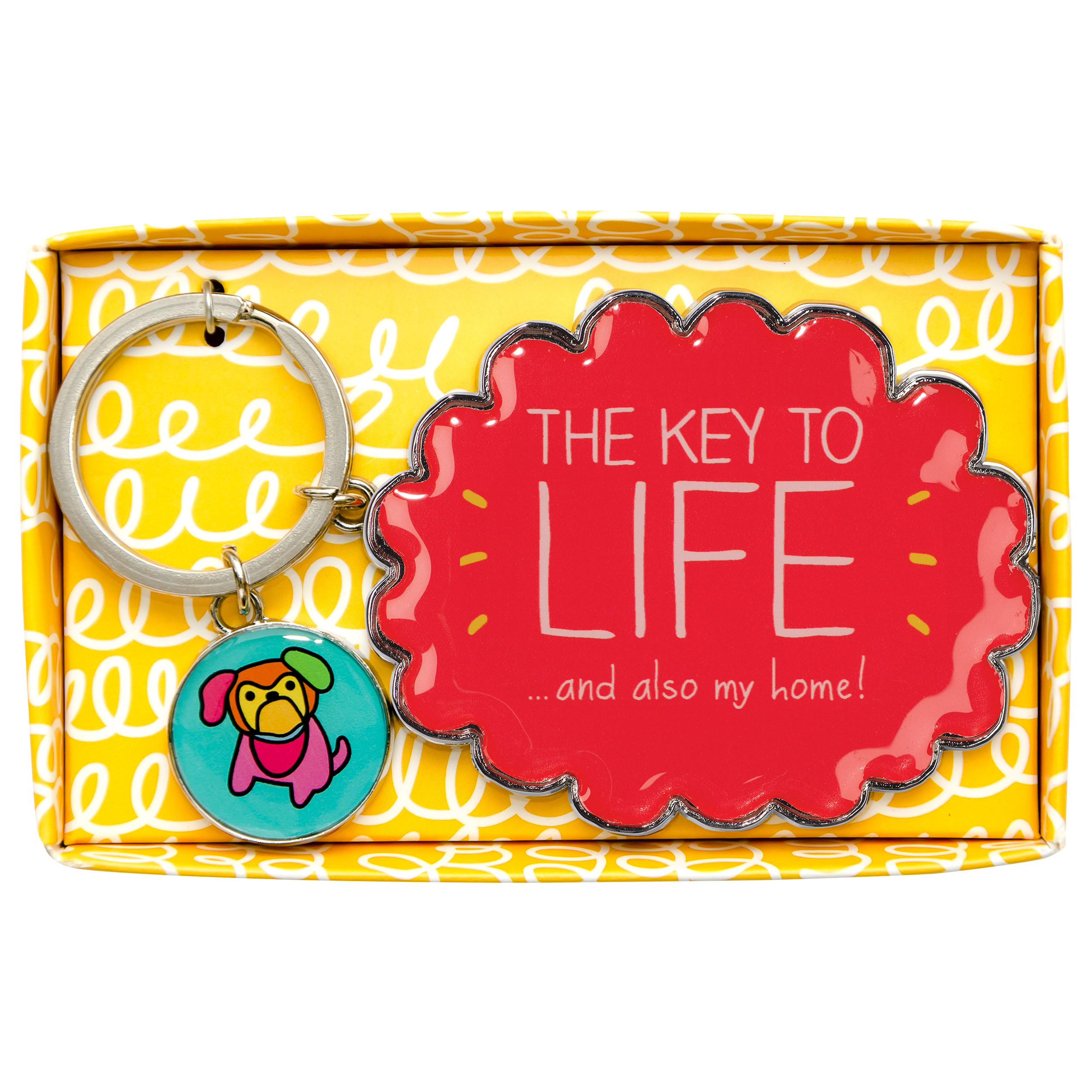 Key to Life' Keyring