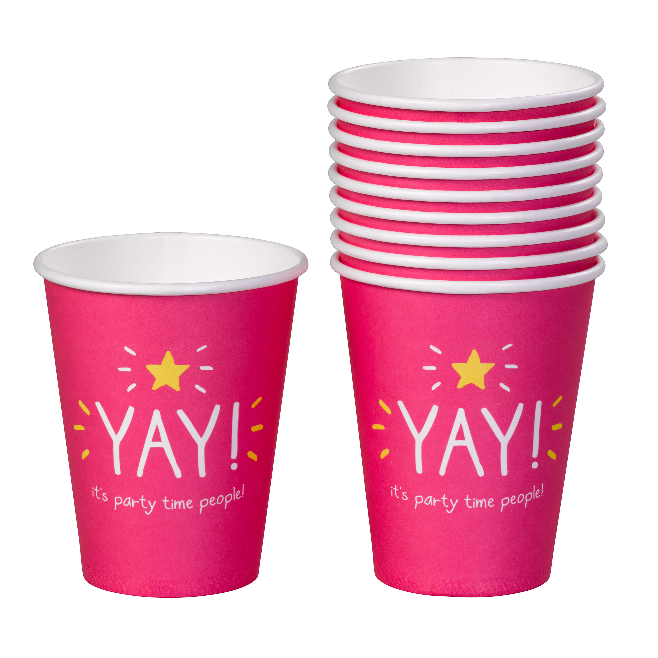 Yay' Party Cups