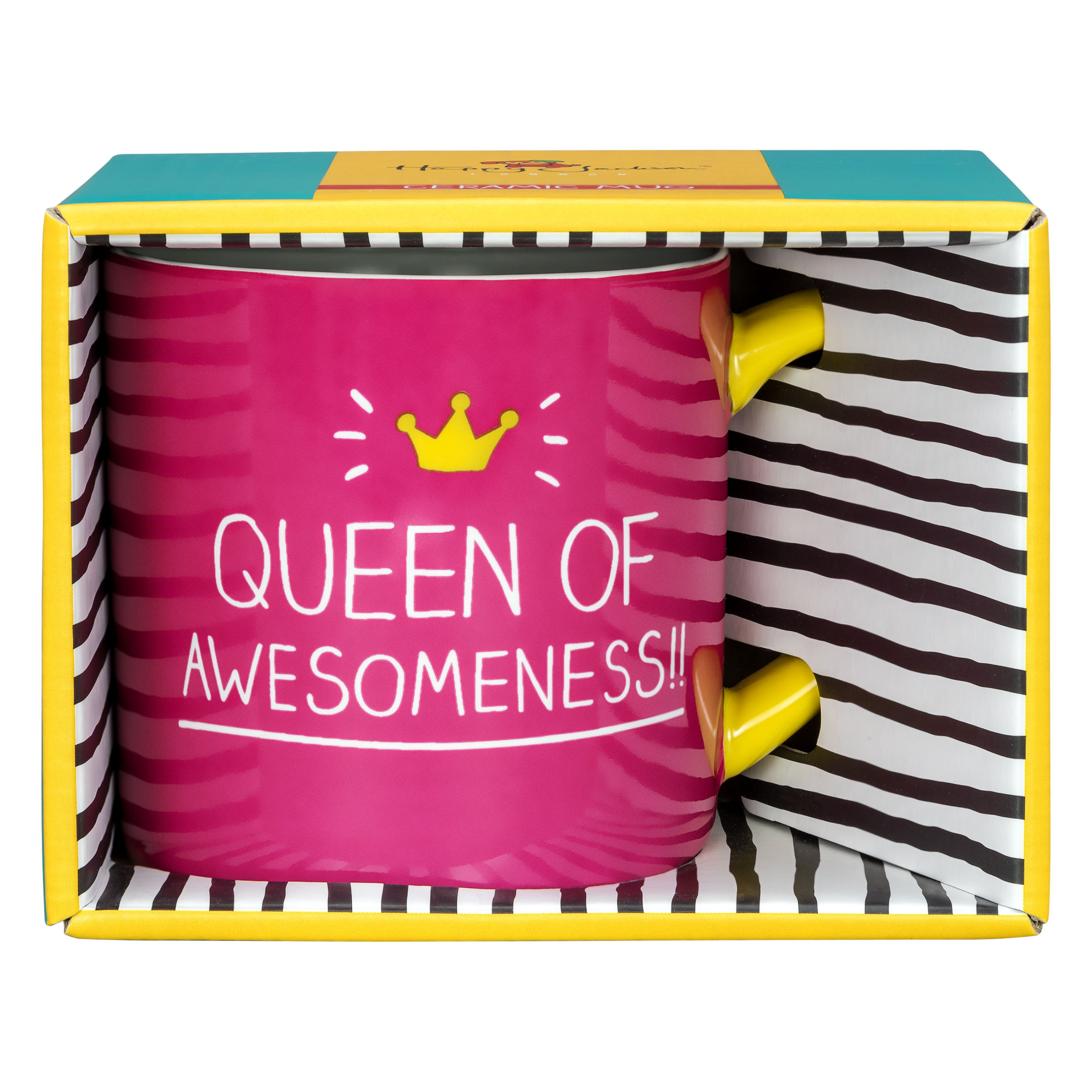 'Queen Of Awesomeness' Mug