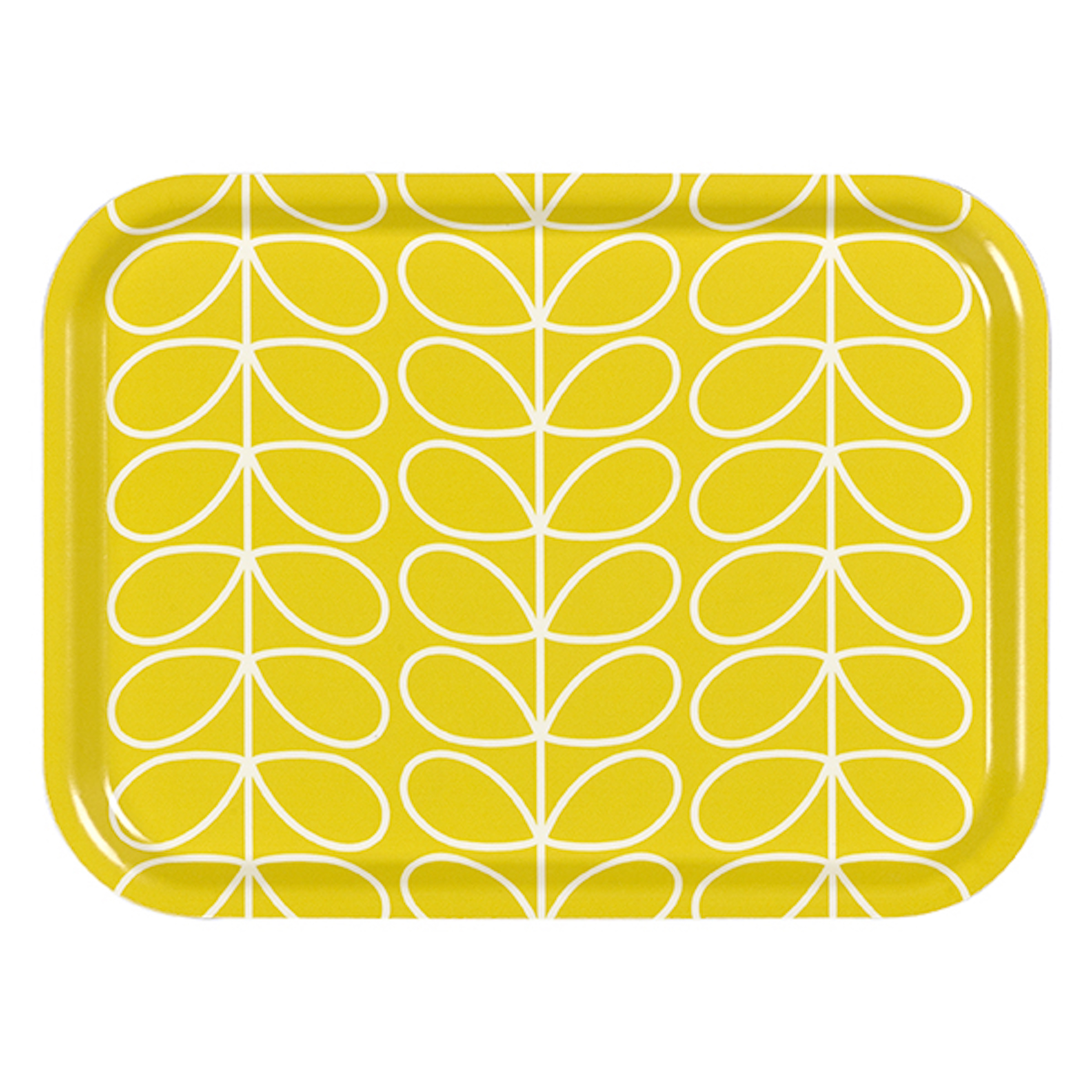 Small Tray Linear Stem Yellow