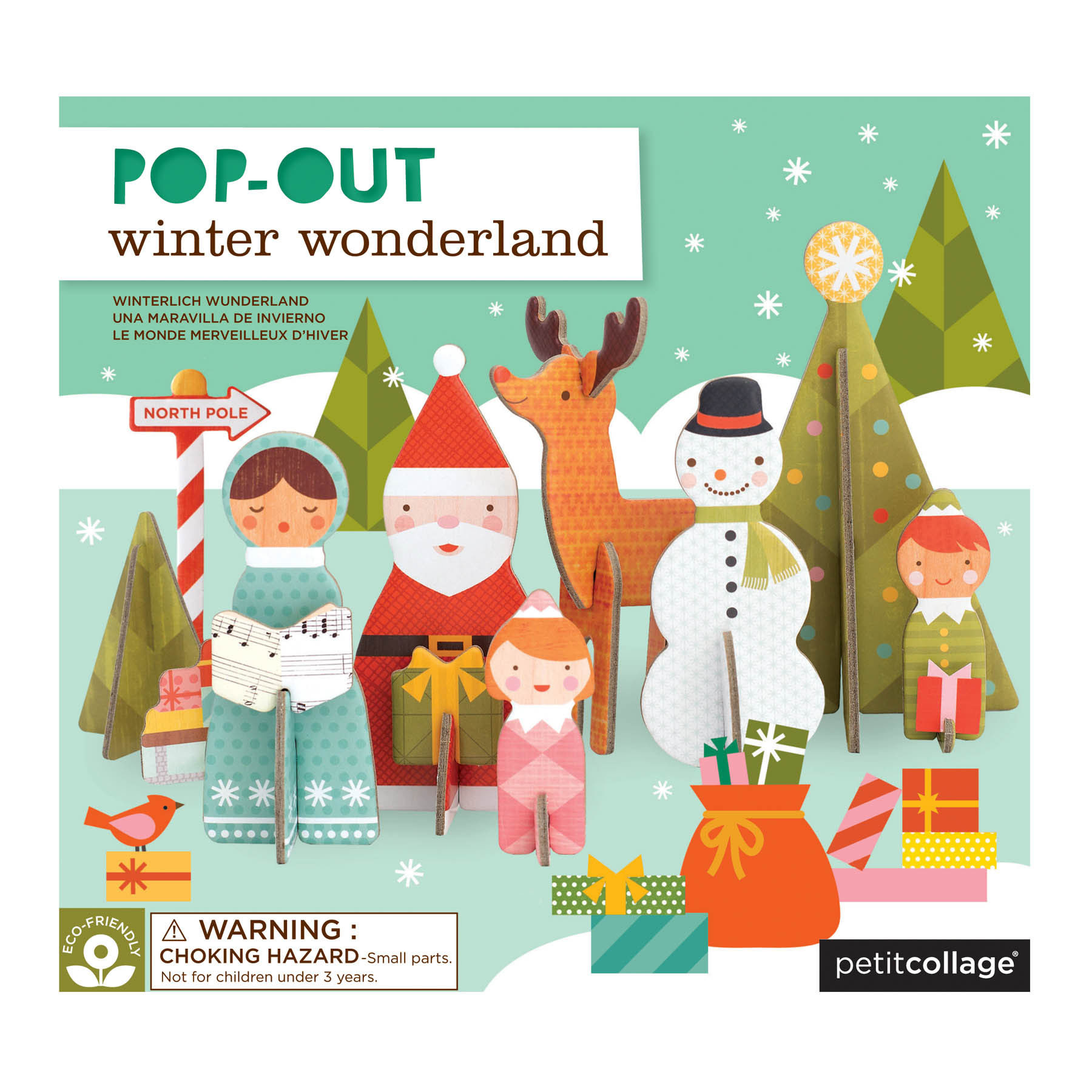 Winter Wonderland Pop-Out