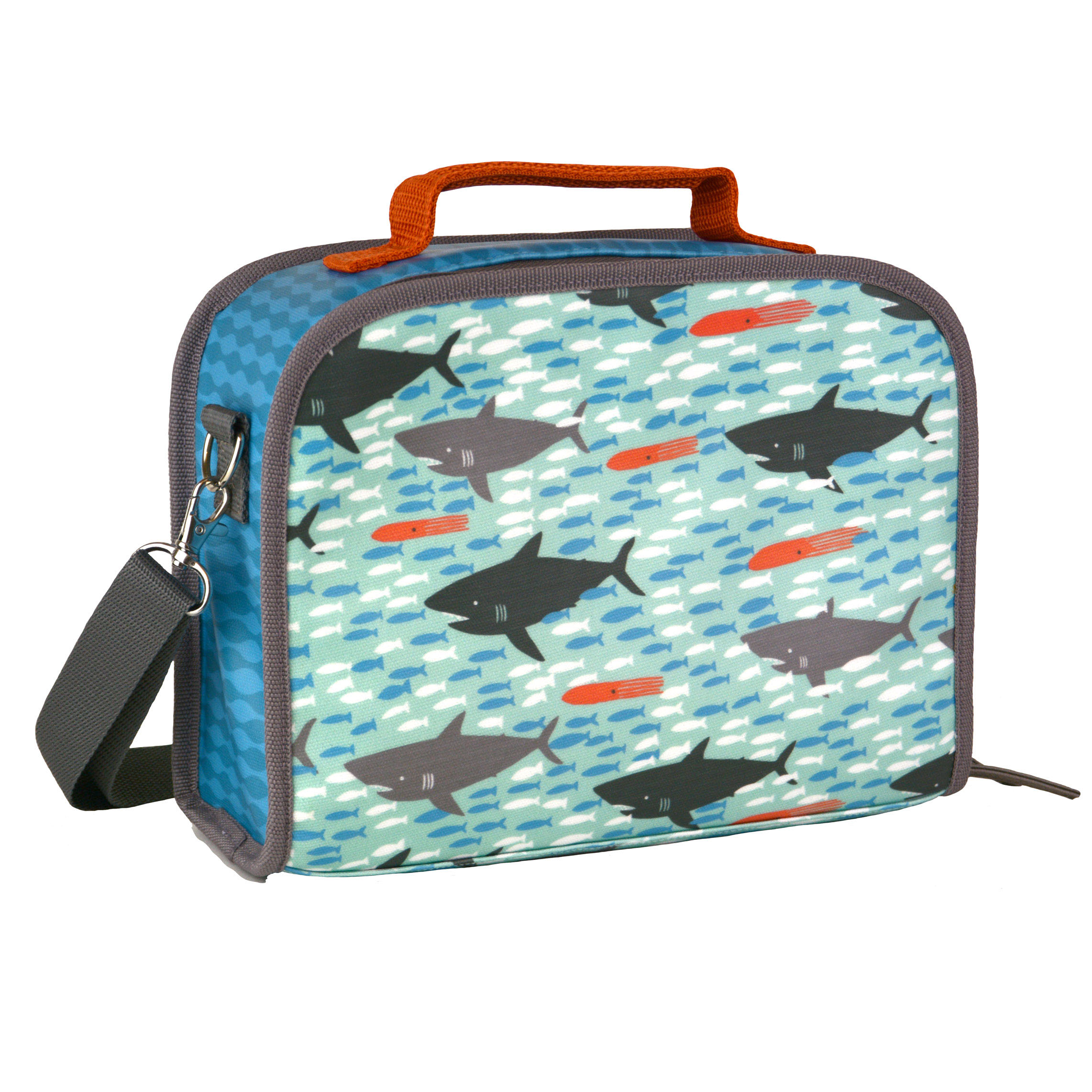 Sharks Eco-Friendly Insulated Lunch Box