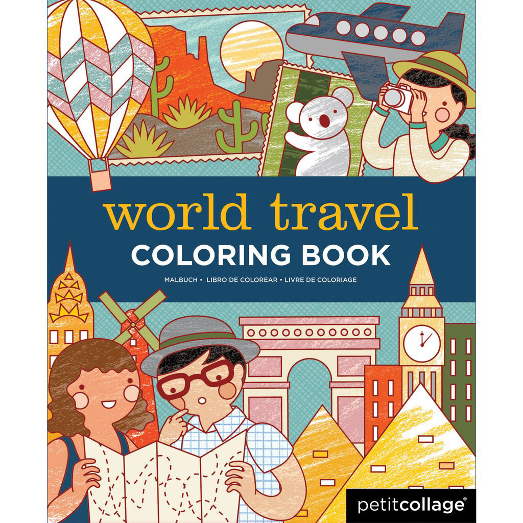 World Travel Colouring Book
