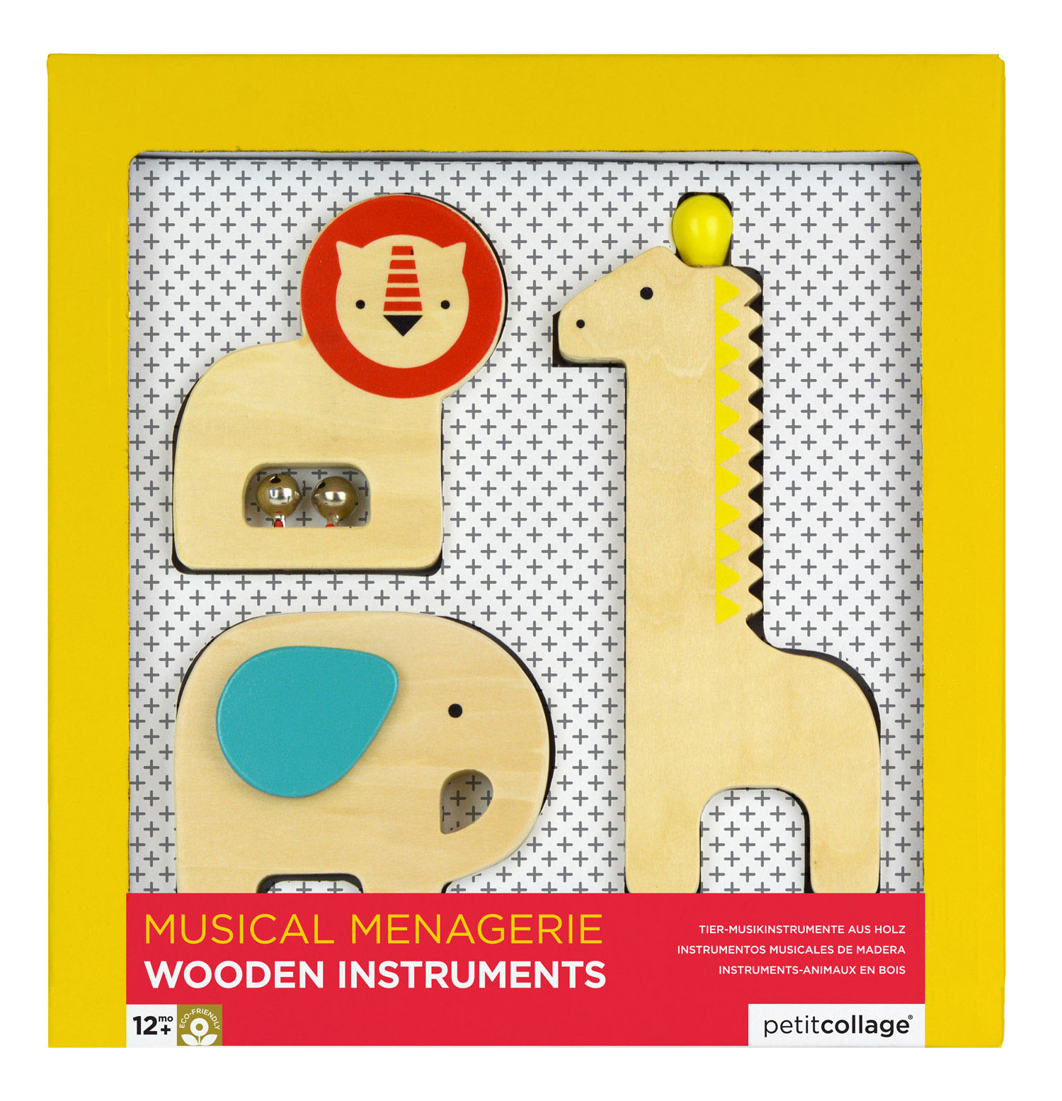 Musical Menagerie Wooden Animal Instruments