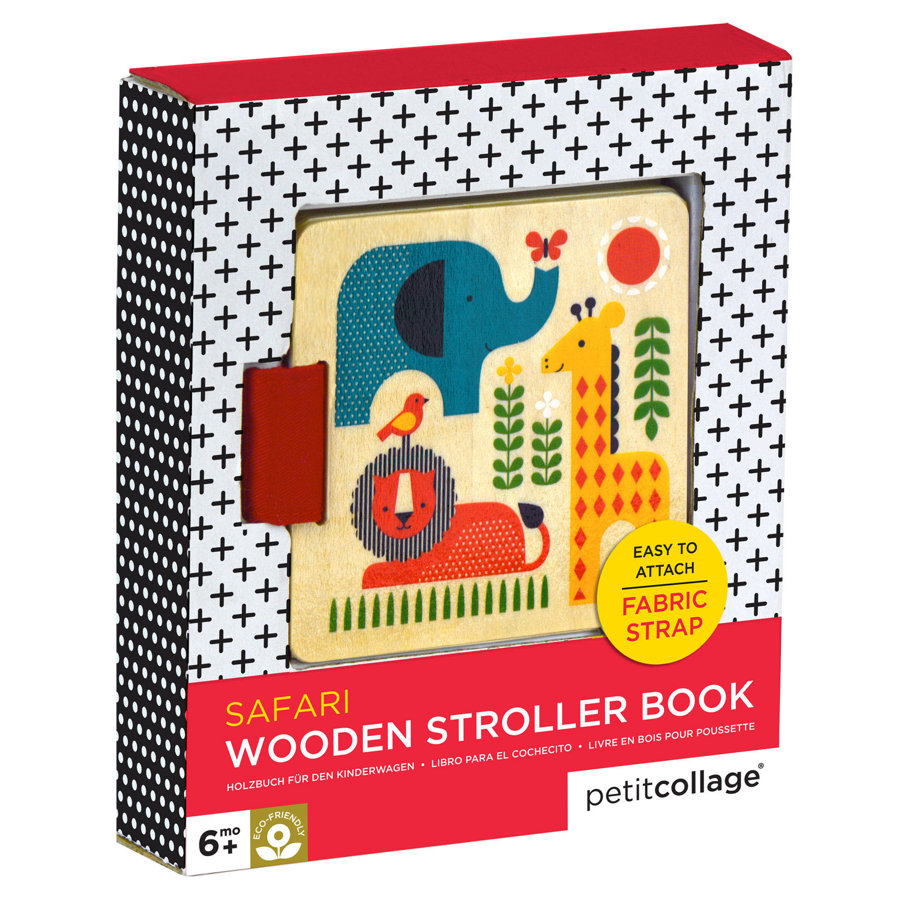 Safari Wood Stroller Book