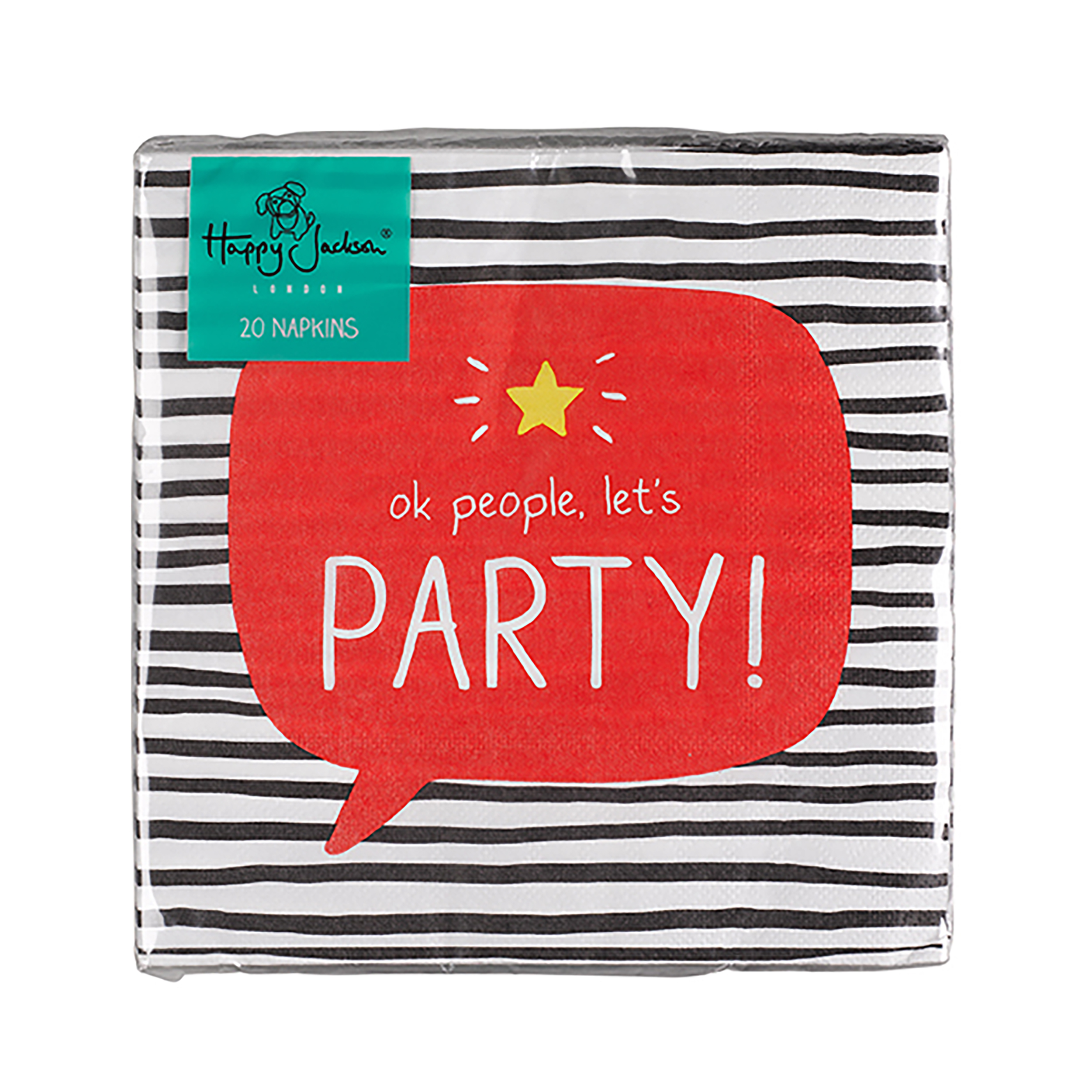OK People Let's Party' Napkins