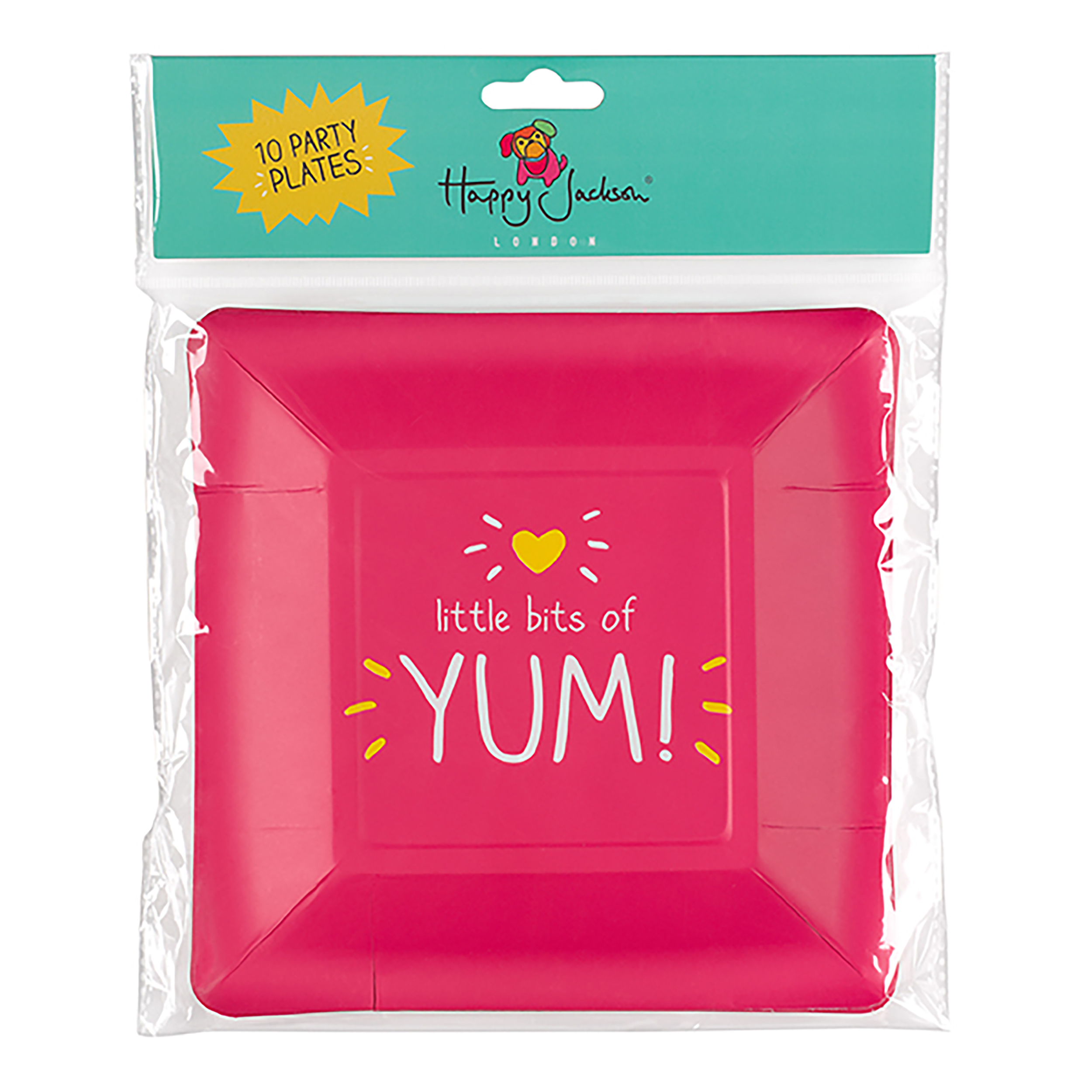 Yum' Square Party Plates