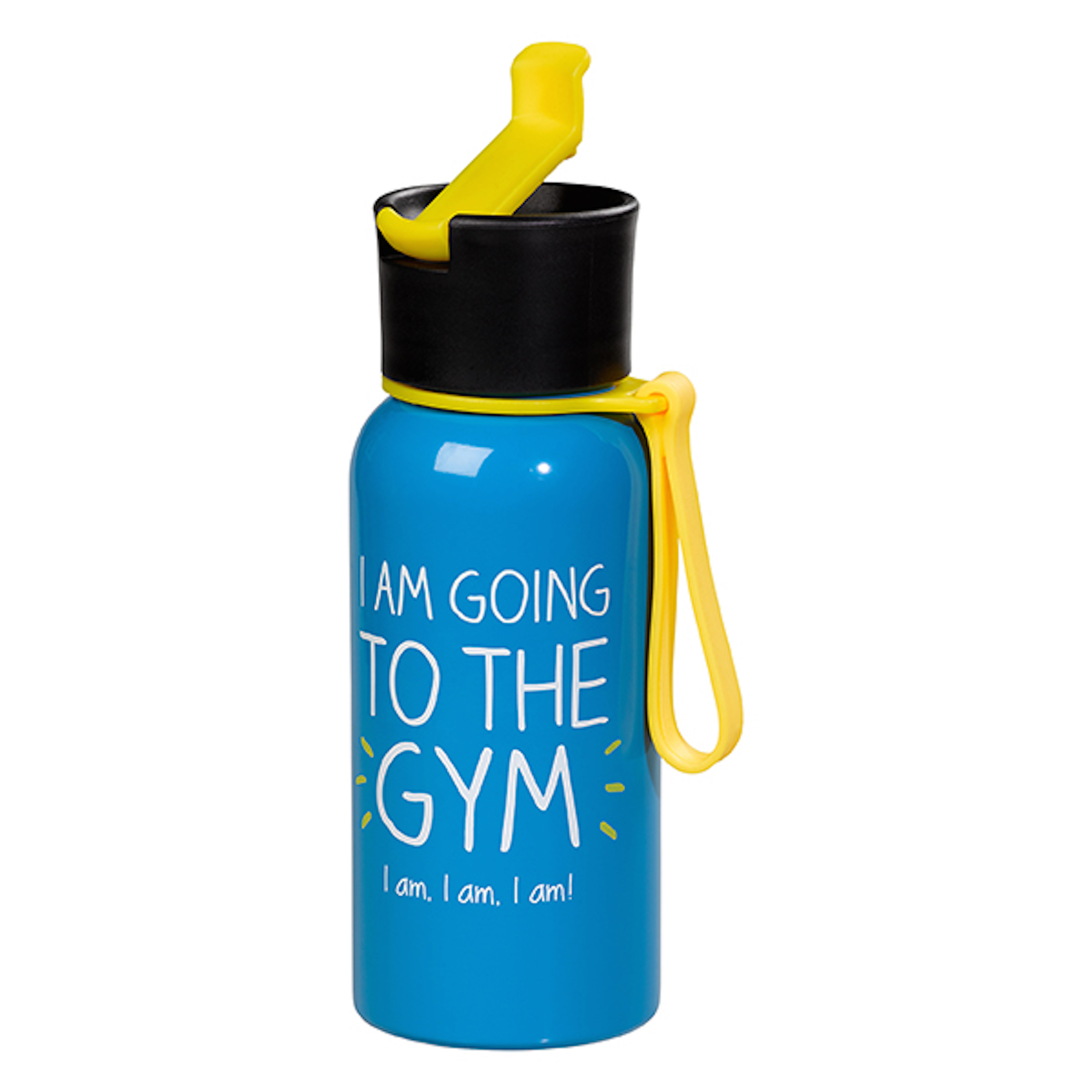 Going To The Gym' Water Bottle