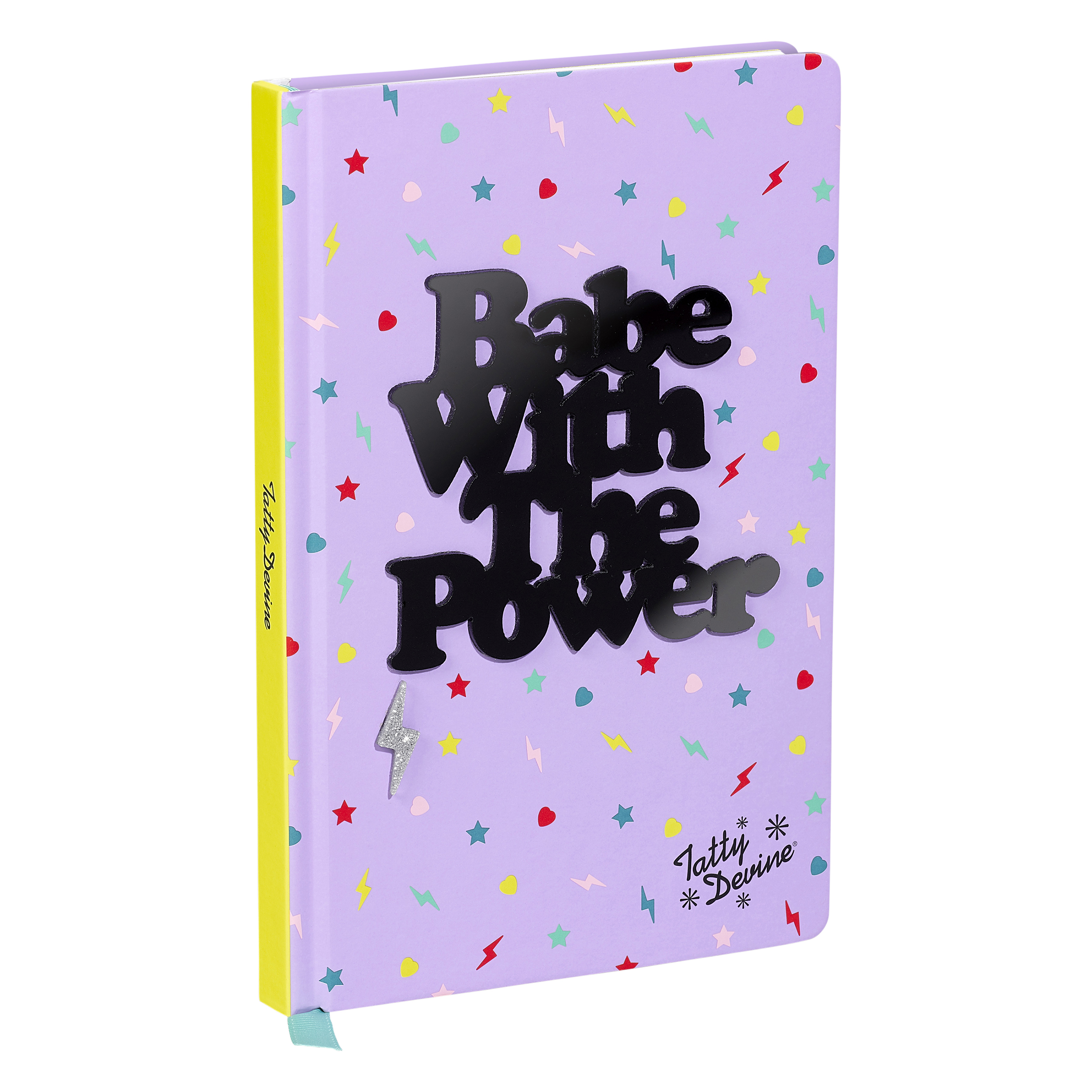 A5 Notebook, Babe with the Power