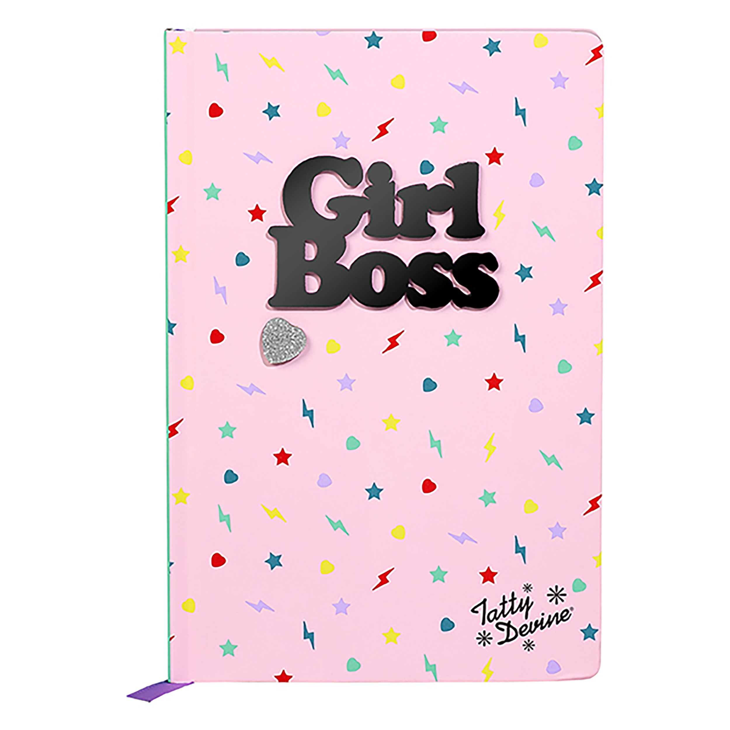 A5 Notebook, Girl Boss