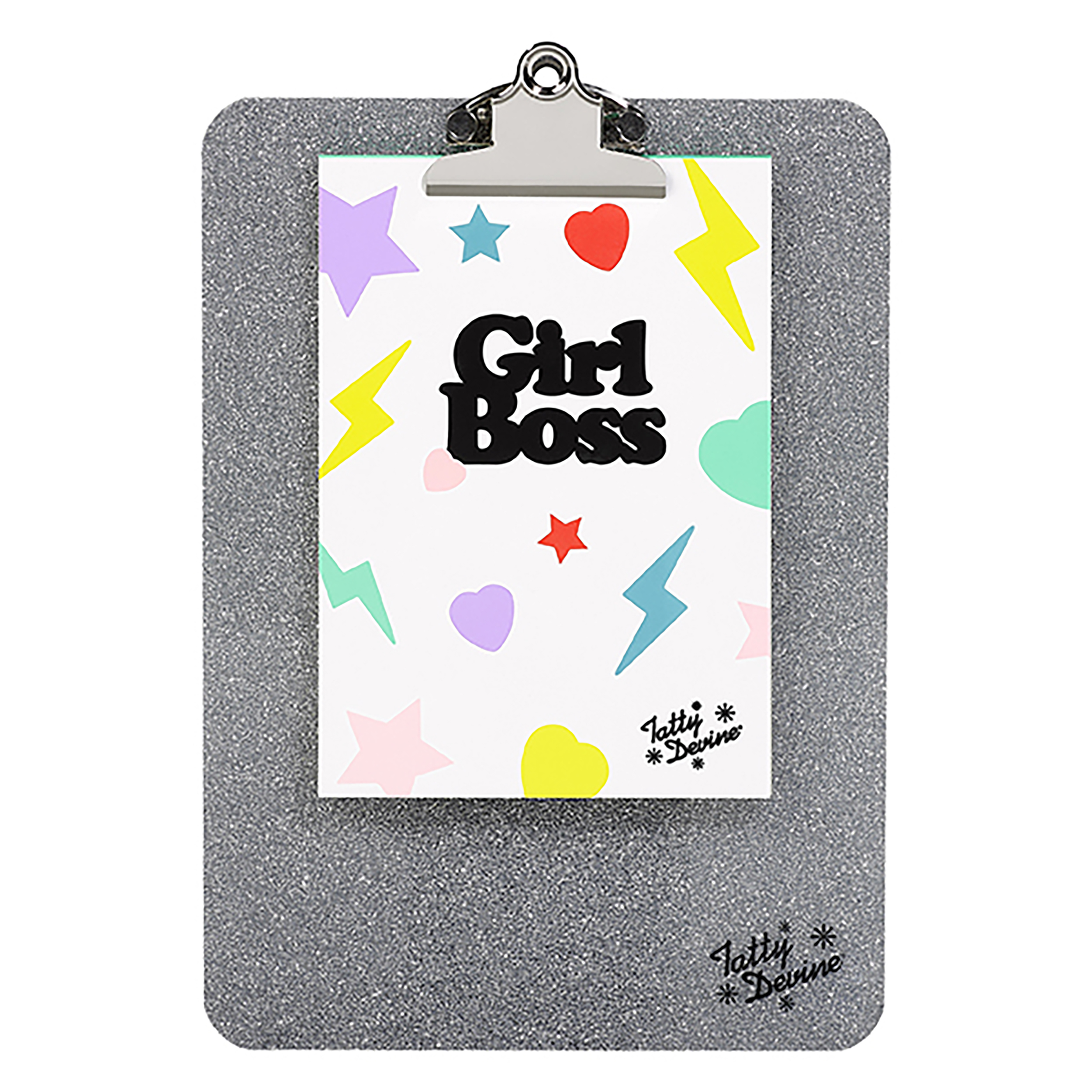 Clipboard and pad, Girl Boss