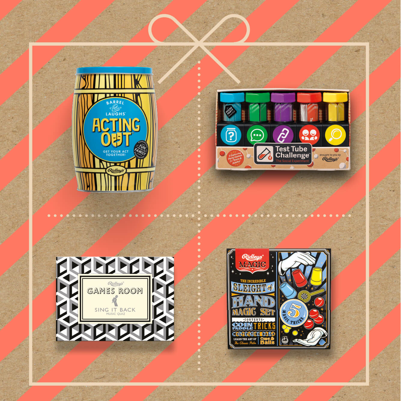 Christmas Games from Wild & Wolf - All wrapped up