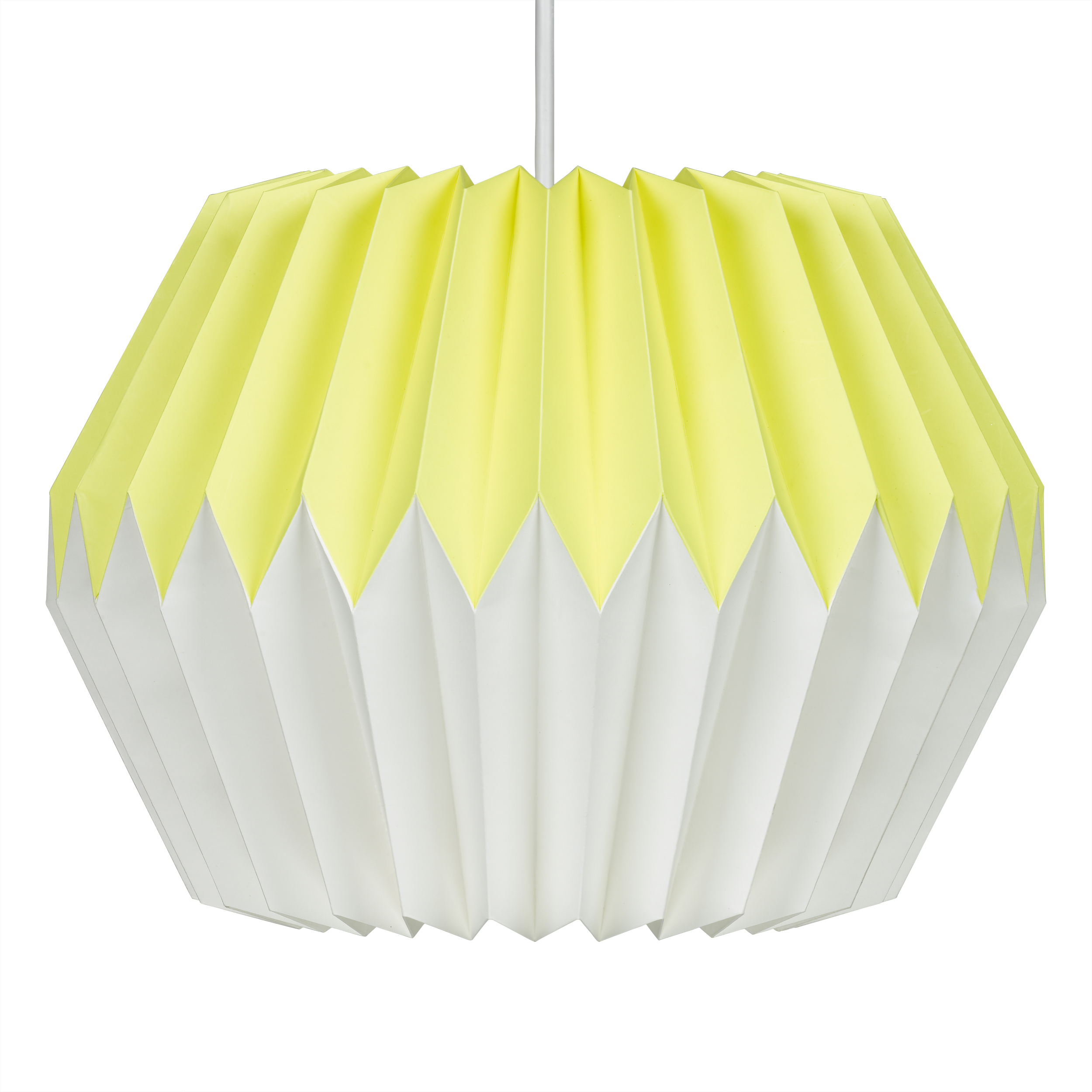Lemon yellow paper lampshade wild and wolf website lemon yellow paper lampshade mozeypictures Image collections