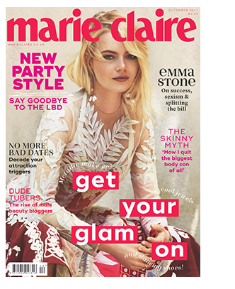 November Press Marie Claire Cover