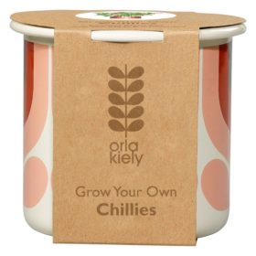 Grow Your Own, Striped Tulip, Rosewood, Chillies