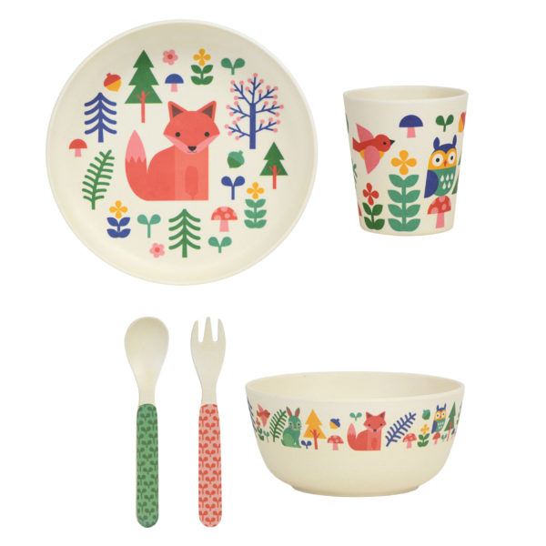 Bamboo Dinnerware Set Forest  sc 1 st  Wild \u0026 Wolf & Bamboo Dinnerware Set Forest - Wild and Wolf Website