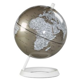 Globe 8″, Metallic Pewter