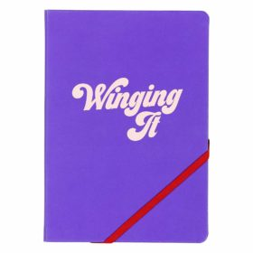 A5 Notebook, Winging It
